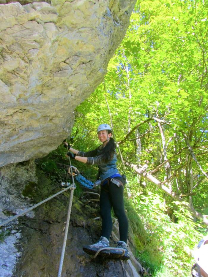 At the start | Via Ferrata Murren to Gimmelwald, Switzerland: One Insane Alpine Adventure!