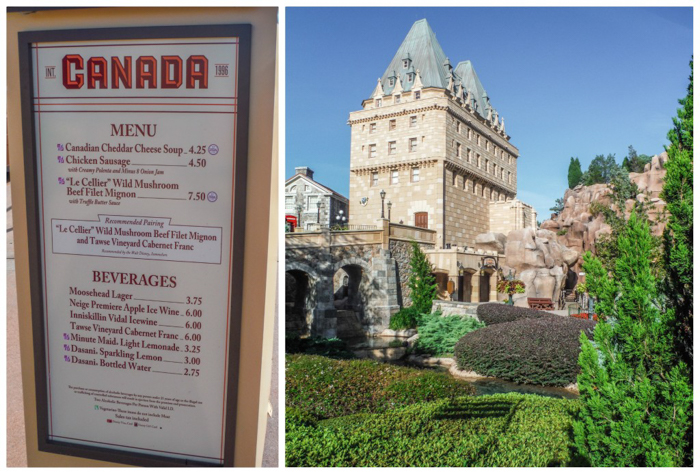 Foodie and the Feast // 20 Countries in 1 Day at the Epcot Food & Wine Festival   Canada Pavilion at EPCOT Food & Wine Festival