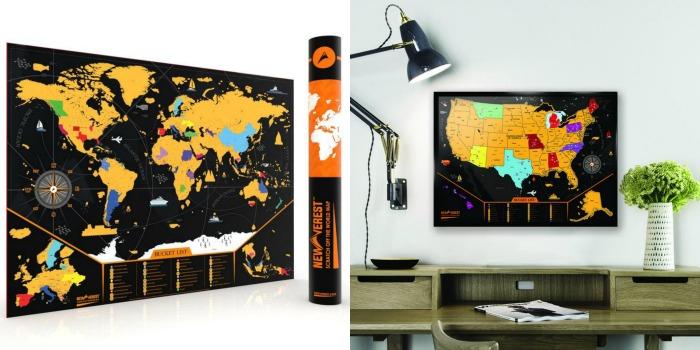 The best scratch maps | Newverest scratch maps