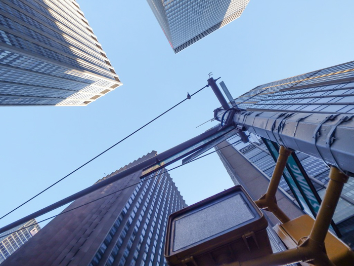 Do This, Not That // Macy's Thanksgiving Day Parade   Looking up at the Macy's Thanksgiving Day Parade in New York City