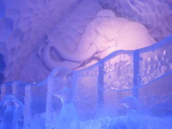 Hôtel de Glace // Straight Chillin' at Québec City's Ice Hotel   Québec City's ice hotel  The Ice Age   ice slide