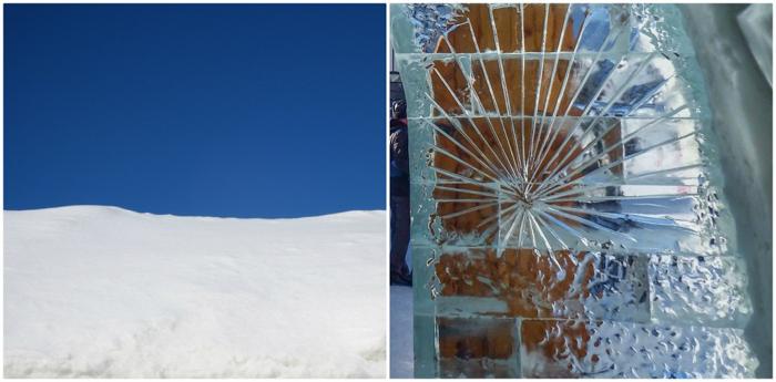 Hôtel de Glace // Straight Chillin' at Québec City's Ice Hotel   Québec City's ice hotel   Ice hotel construction