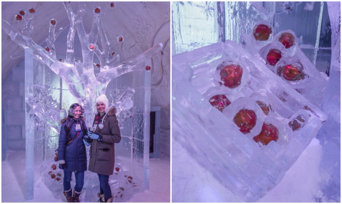 Hôtel de Glace // Straight Chillin' at Québec City's Ice Hotel | Québec City's ice hotel | Bloggers | under the frozen apple tree