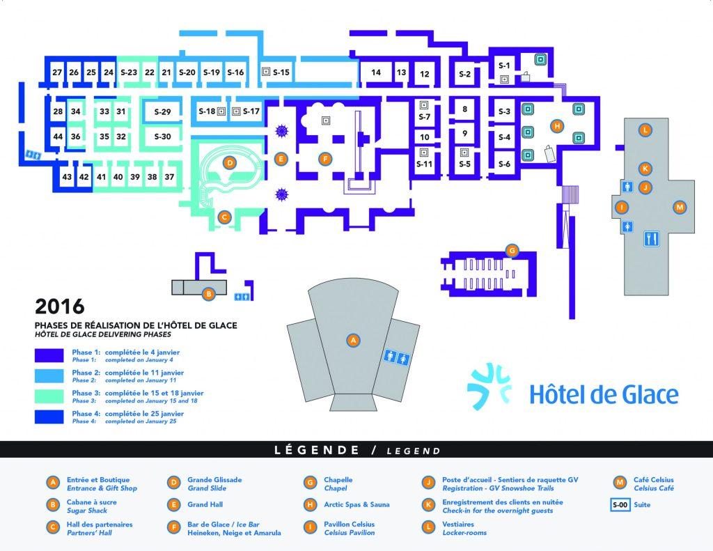 Hôtel de Glace // Straight Chillin' at Québec City's Ice Hotel | Québec City's ice hotel | Map of Hôtel de Glace