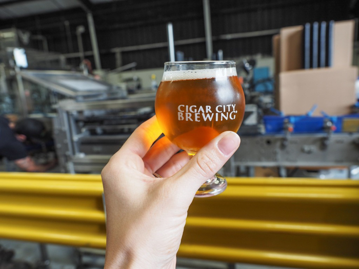 How to Tour Beer // Cigar City Brewery | Tampa, Florida | Tasting | Cigar City Invasion