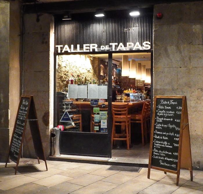 Taller de Tapas restaurant in the gothic quarter of Barcelona, Spain   Where to eat in Barcelona