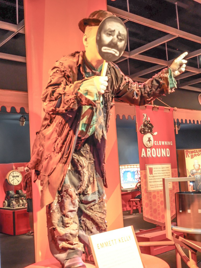 How creepy is the Ringling Brothers Circus Museum | Sarasota, Florida | Barnum and Bailey Circus | Greatest Show on Earth | The Greatest Showman | Circus history | Clowns | What to do in Sarasota