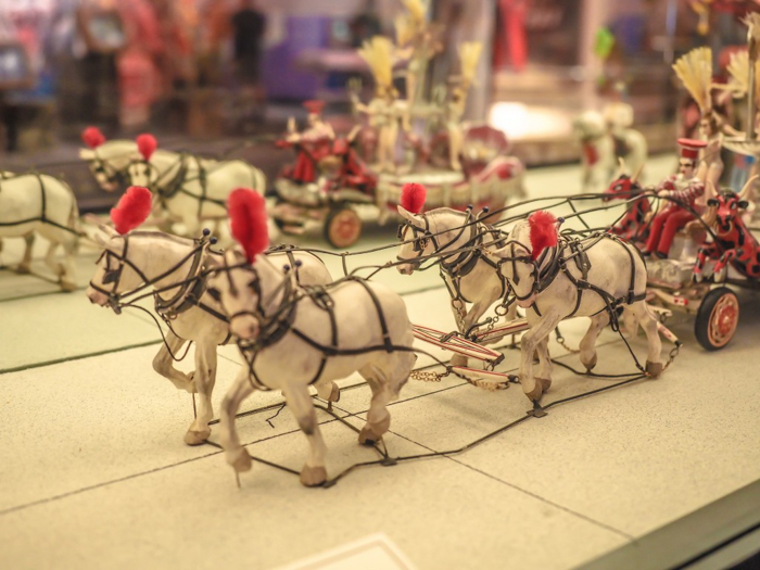 How creepy is the Ringling Brothers Circus Museum   Sarasota, Florida   Barnum and Bailey Circus   Greatest Show on Earth   The Greatest Showman   Circus history   Clowns   diorama