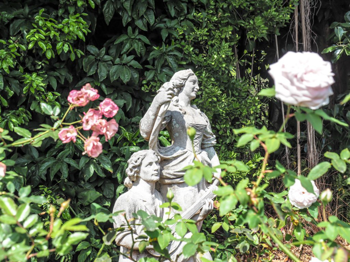 The Ringling // Getting My Italy Fix in Florida   Ringling   Ringling art museum and sculpture garden   Sarasota, Florida   The Ringling art museum   Rose garden