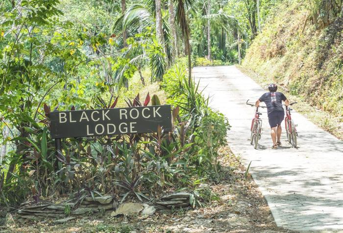 Black Rock Lodge | Belize | Mountain biking at Black Rock Lodge in San Ignacio, Belize