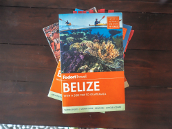 Fodor's travel guides, my go-to for travel planning