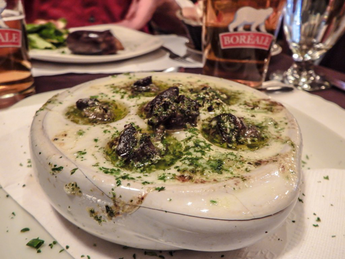 Escargots at Cafe St. Malo | Dinner at Cafe St. Malo | The Best Spots to Eat + Drink in Québec City | Canada