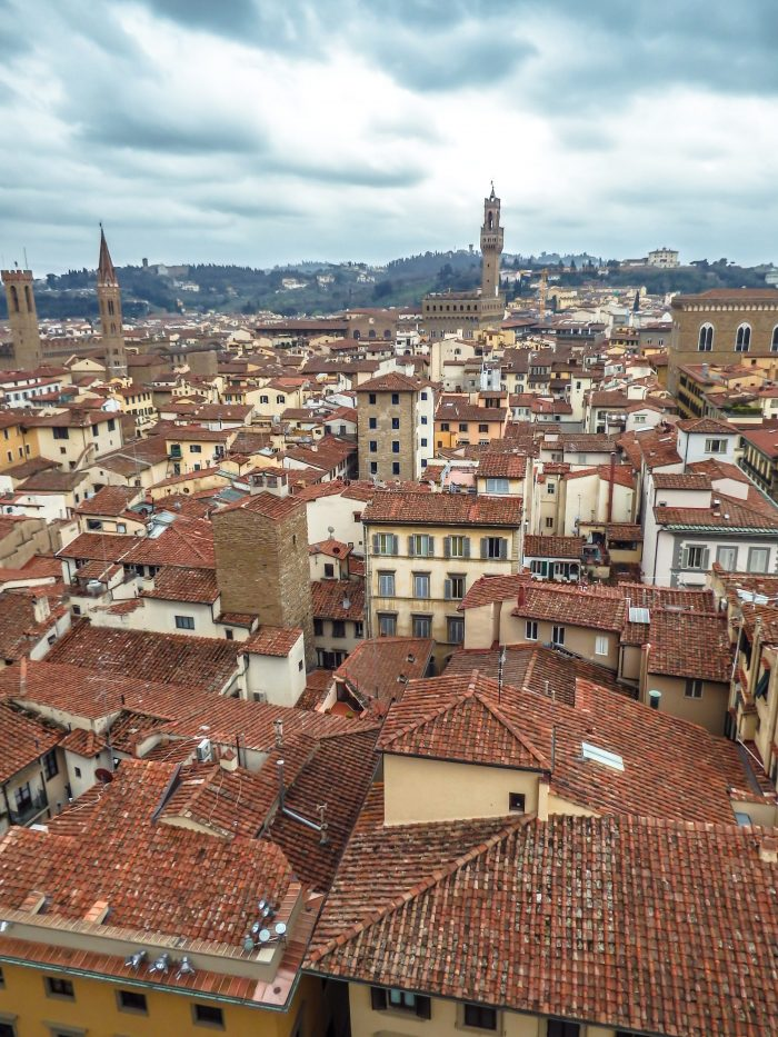 Day Two of 2 Days in Florence // Climbing the bell tower and the view from Giotto's Campanile