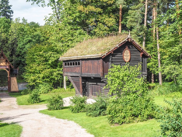 24 hours in Oslo, Norway -- Grass roof houses at the Norwegian Folk Museum