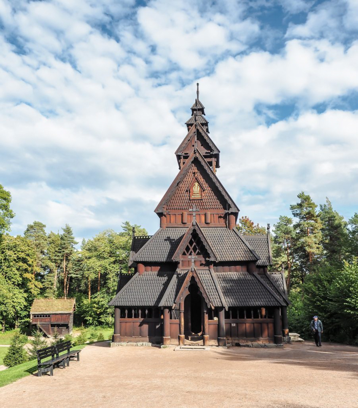 24 hours in Oslo, Norway -- Stave church at the Norwegian Folk Museum