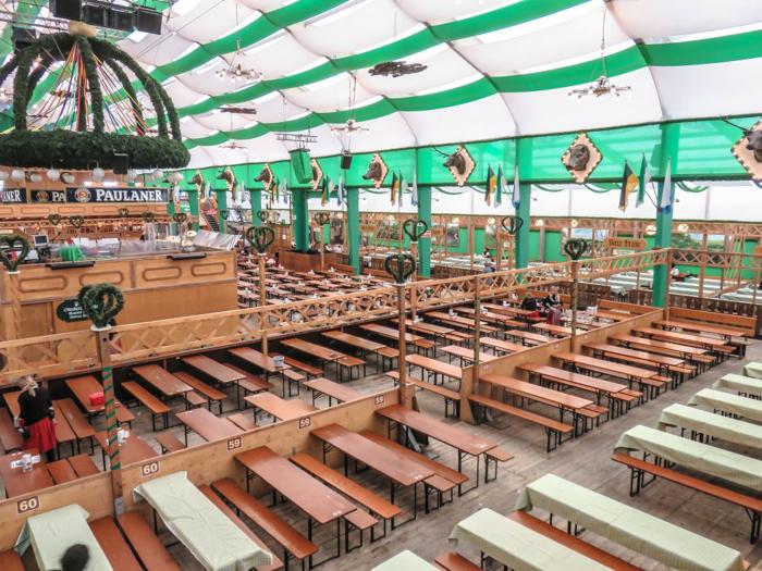 My Wanderlusty Oktoberfest Recap | What it's like at Oktoberfest in Munich, Germany | What it's like to travel to Oktoberfest with Thirsty Swagman | Oktoberfest beer tents | Oktoberfest food and beer | What to wear to Oktoberfest | Oktoberfirsts | Armbrustschutzenzelt