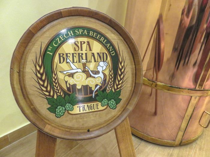 Inside Pivní Lázně Spa Beerland--a Prague beer spa