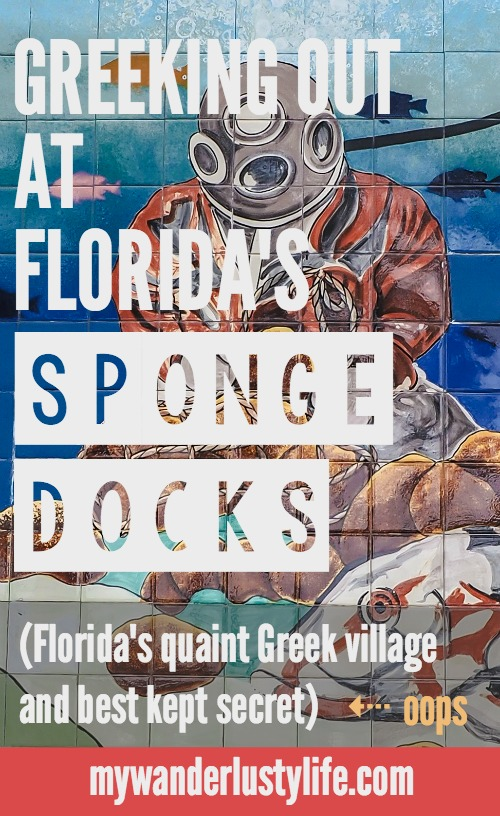 Greeking out at the Tarpon Spring Sponge Docks, Florida's quaint Greek village and best kept secret. Greek food | Sponges | Fishing | Dolphin tours | Shopping