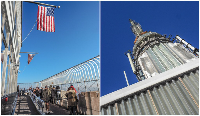 Is the observatory at the Empire State Building the best observation deck in New York City? (The observation deck and antenna)