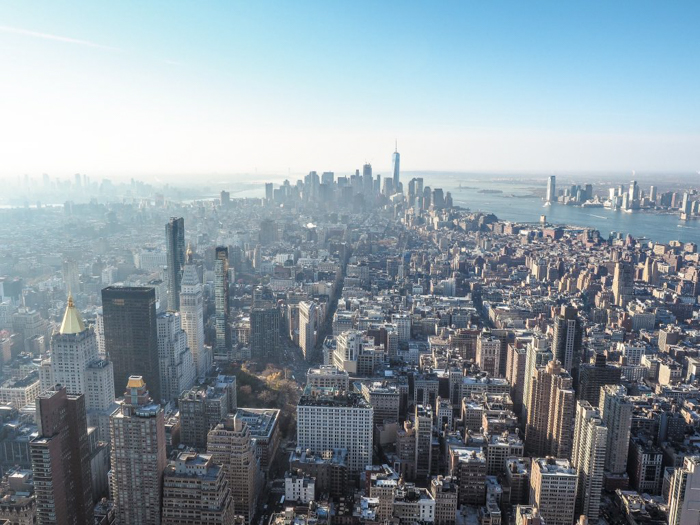 Is the observatory at the Empire State Building the best observation deck in New York City? (Downtown Manhattan)