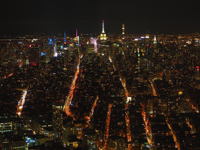 Is One World Trade Center's One World Observatory the best observation deck in New York City? (skyline at night)