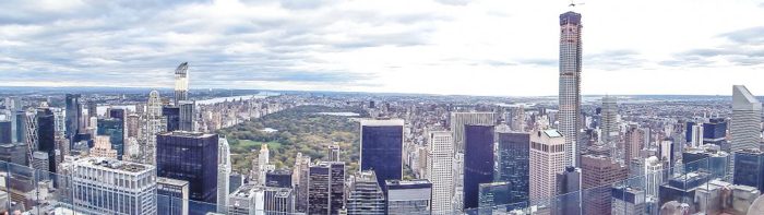 Is Rockefeller Center's Top of the Rock the best observation deck in New York City? (Central Park panorama)