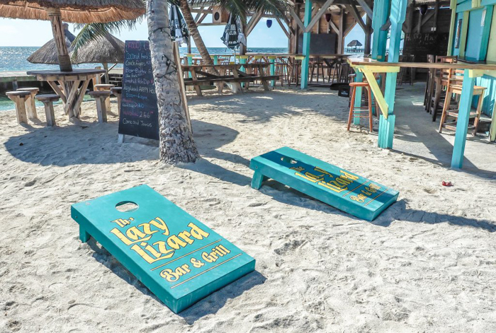 3 days in caye caulker, belize // lazy lizard