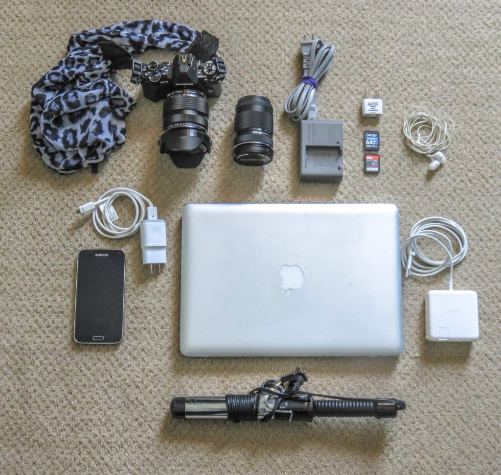 what to pack for London and Paris in the winter (for real people) // photography gear, electronics