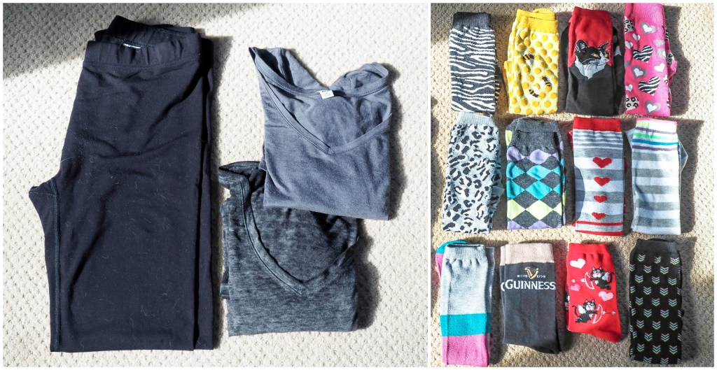 What to pack for London and Paris in the winter (for real people) | under things and socks