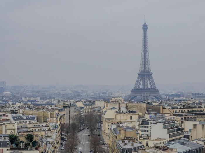 3 days in Paris, France | Paris Museum Pass | Paris Passlib' | Paris Visite | Arc de Triomphe | view of Eiffel Tower