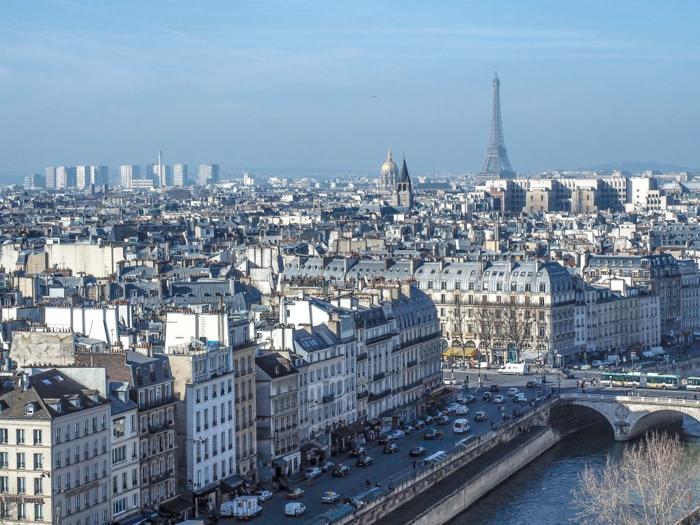 3 days in Paris, France   Paris Museum Pass   Paris Passlib'   Paris Visite   Towers of Notre Dame   View of Eiffel Tower