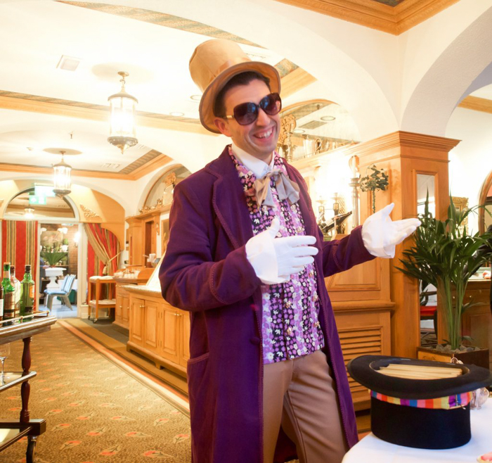 Charlie and the Chesterfield | Willy Wonka and the Chocolate Factory | Afternoon Tea | London, United Kingdom | Chesterfield Mayfair Hotel | Red Carnation Hotel Collection