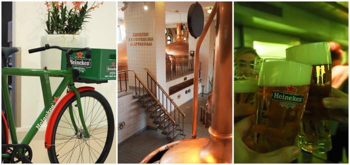 Bike Brewery Cheers | Personalized Heineken bottle | The Heineken Experience in Amsterdam | the Netherlands | Heineken Brewery | brewery tour | VIP tasting | beer | Amstel | Brand | Affligem | Heineken 41 | beer tasting