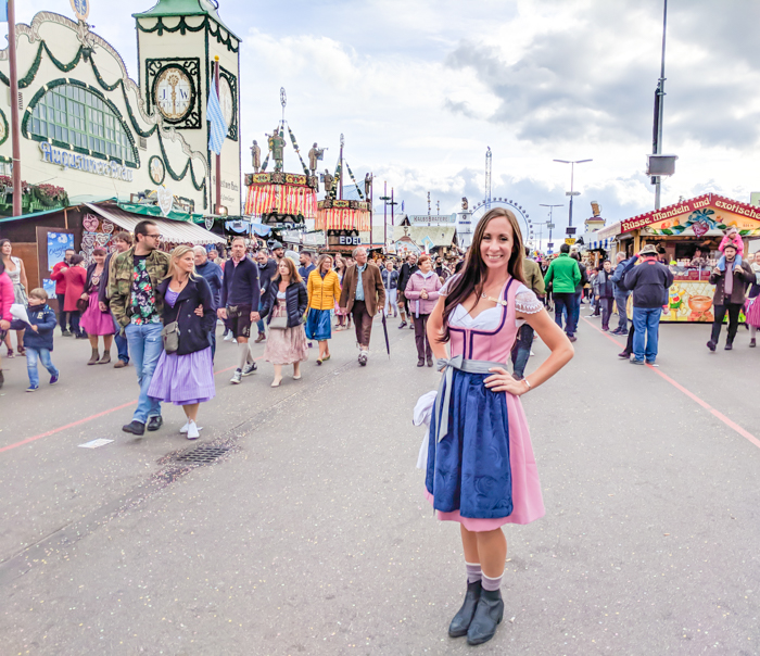 custom made Rare Dirndl | How to dress for Oktoberfest, a Complete and Honest Oktoberfest Packing Guide for dirndls | What to wear to Oktoberfest in Munich, Germany #oktoberfest #dirndl #munich #germany #festival #beerfestival