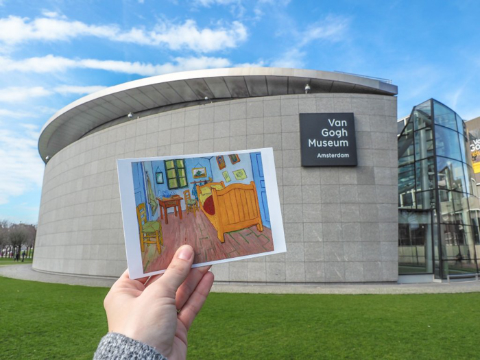 Exterior of the Van Gogh Museum | 3 days in Amsterdam, Netherlands | Dutch art history