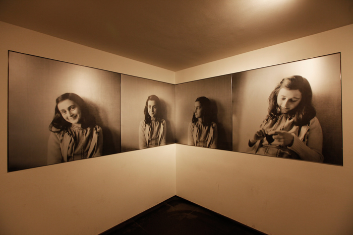 Photos of Anne Frank inside the Anne Frank House in Amsterdam | 3 days in Amsterdam, Netherland | Dutch History | WW2 | Diary of Anne Frank
