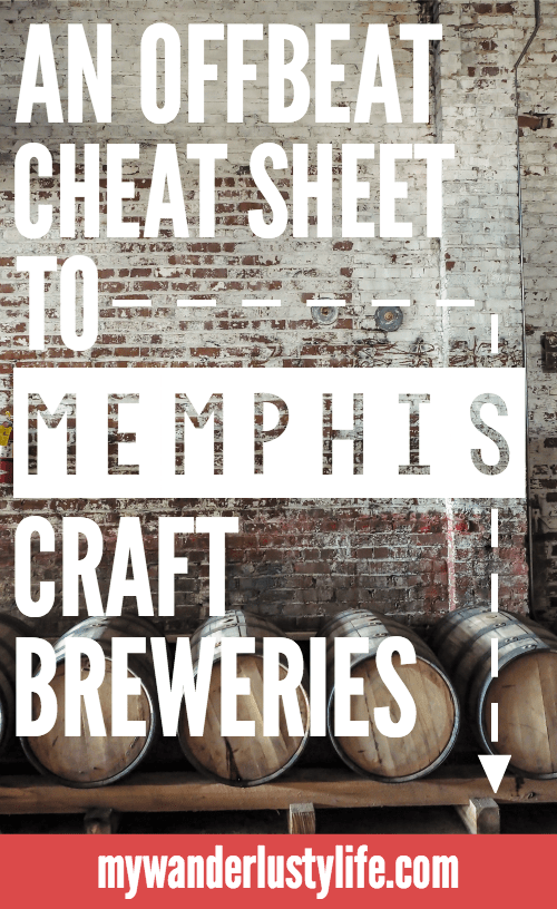 Cheers for Beers! An Offbeat Cheat Sheet to Memphis Craft Breweries | Bosco's in Overton Square | Ghost River Brewing | Memphis Made | Wiseacre | High Cotton | Midtown and Downtown Memphis, Tennessee | Craft beer taprooms | Brewery tours