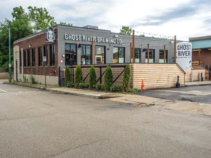 Memphis craft breweries | Ghost River Brewing Co. | Craft beer in Downtown Memphis, Tennessee | Ghost River taproom exterior