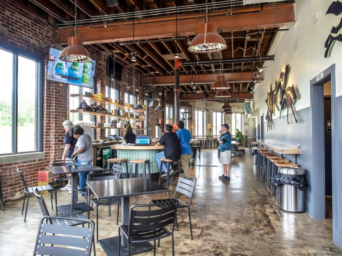 Memphis craft breweries | Ghost River Brewing Co. | Craft beer in Downtown Memphis, Tennessee | Ghost River taproom inside