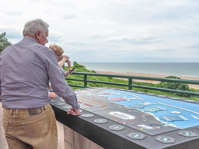 The best D-Day sites to visit in Normandy, France | WWII | WW2 | Normandy American Cemetery | Beach path