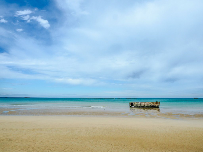 The best D-Day sites to visit in Normandy, France | WWII | WW2 | Arromanches | Artificial harbor remains