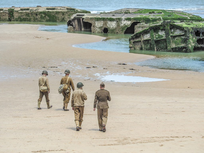 The best D-Day sites to visit in Normandy, France | WWII | WW2 | Arromanches | army soldiers
