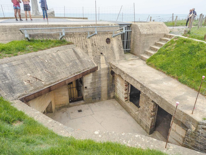 The best D-Day sites to visit in Normandy, France | WWII | WW2 | Pointe du Hoc | German bunker