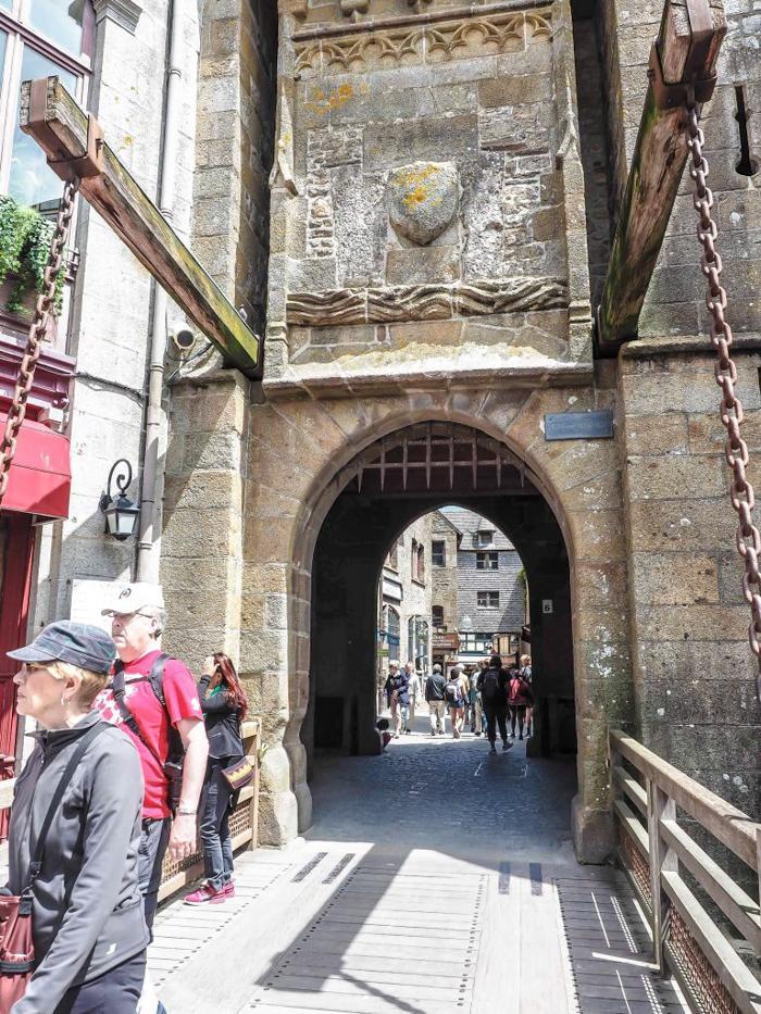 It's actually worth visiting Mont Saint Michel | Normandy, France | Medieval abbey on an island | Bucket list | Disney fairy tale castle inspiration | Mont-St-Michel | draw bridge
