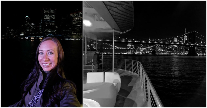 My NYC Thanksgiving Dinner Cruise Experience | Hornblower Cruises | New York City, Manhattan | Yams on a Yacht | Thanksgiving in New York City | me