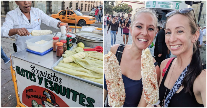 17 Things That Shocked Me in Mexico | Mexico City, Oaxaca de Juarez | Elotes, Mexican street corn in Oaxaca
