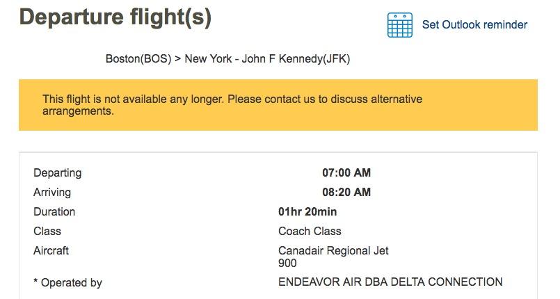 Aeromexico canceled flight | Delta | Mexico City
