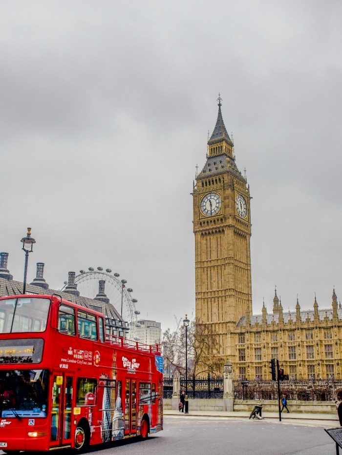 The Best 5-day London Itinerary for First-Time Visitors | London, England, United Kingdom | Double decker bus, london eye, big ben