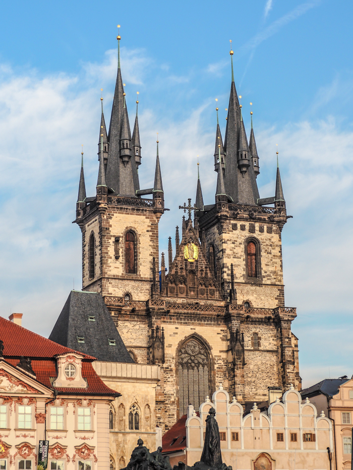 Czeching Out the Best of Prague in 3 Days   Church of Our Lady Before Tyn