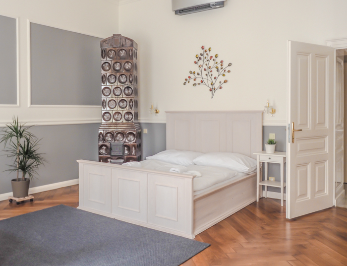 Czeching Out the Best of Prague in 3 Days   Czech Republic   Best hotel in Prague   Old Town Square Apartments   Bedroom